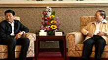 徐守盛会见澳门中联办主任白志健并考察中国东方实业集团有限公司