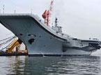 中国航母平台再次海试预计持续9天 或测试舰载机