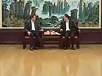 周强会见香港九龙仓集团有限公司主席吴光正